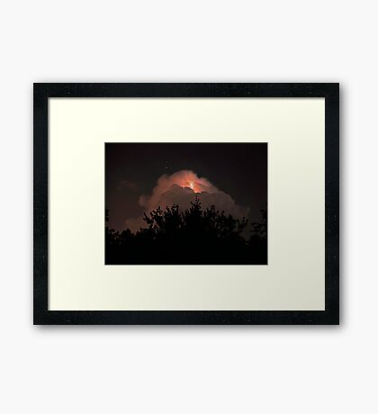 Escape of The Dolphin Framed Print