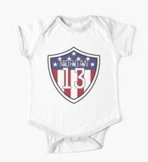 Alex Morgan #13 | USWNT Short Sleeve Baby One-Piece