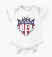 Alex Morgan # 13 | USWNT Baby Body Kurzarm