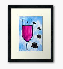 Cocktails with Magritte - Print Framed Print