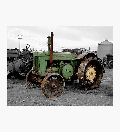 Workhorse Of The Prairies Photographic Print