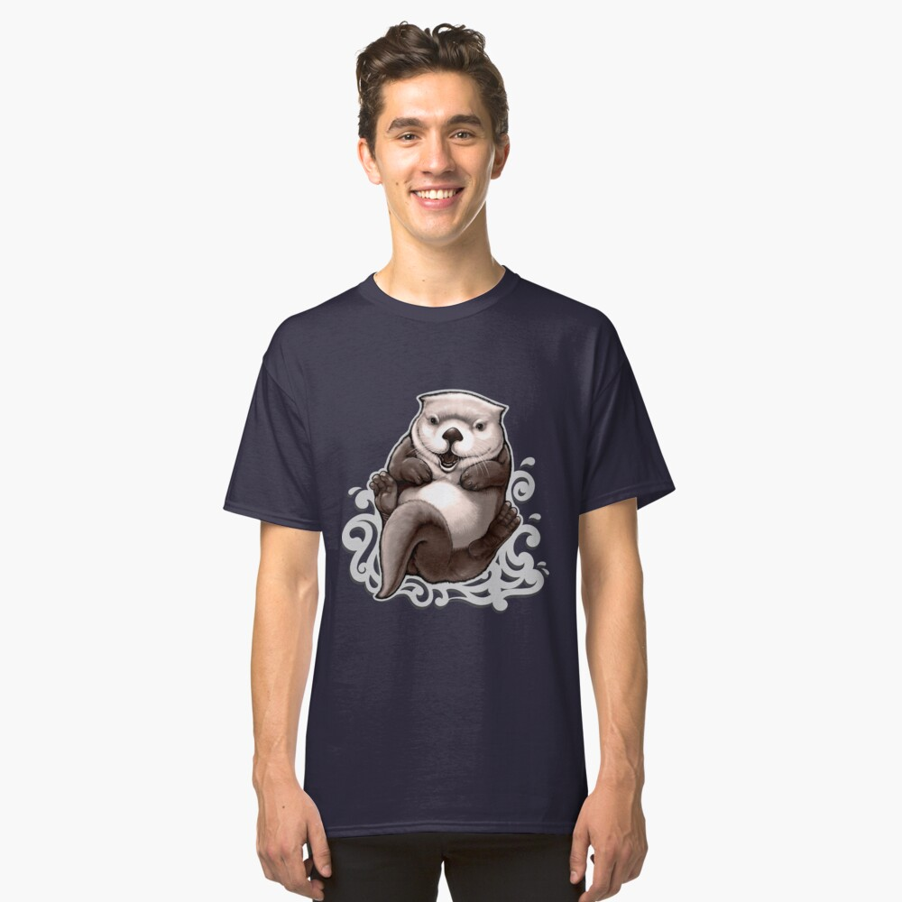 T-shirt classique «Loutron de mer»