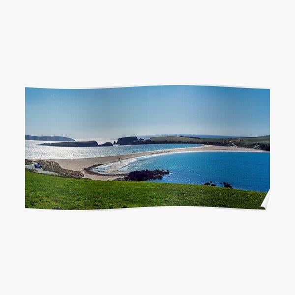 St Ninian's Isle, Shetland Islands Poster