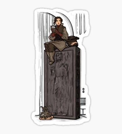 To Find a Way Out Sticker