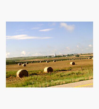 Saskatchewan Prairies Photographic Print