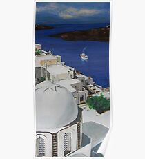 Cyclades Island Poster