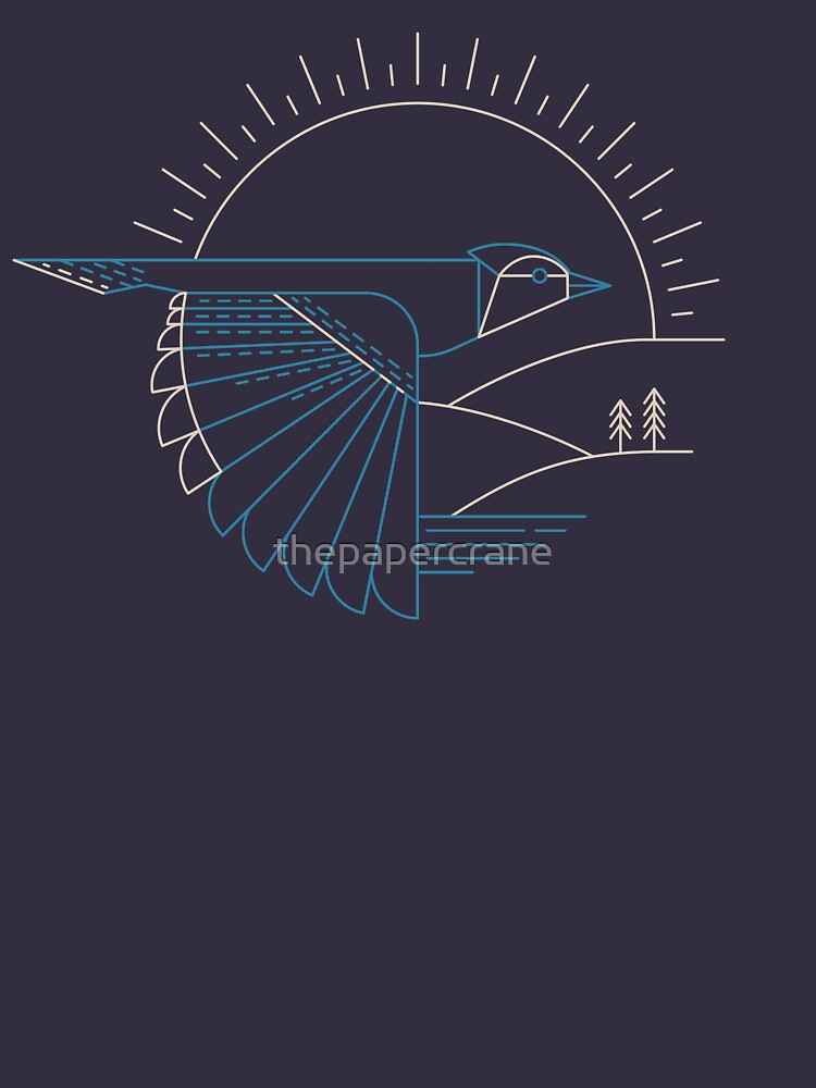 Blue Jay by thepapercrane