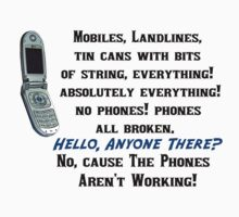 Funny Ianto Torchwood Quote about Phones
