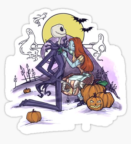 Halloween Hero Sticker
