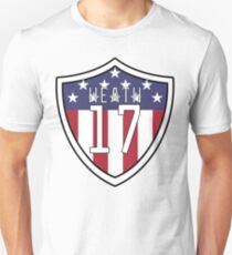 Tobin Heath #17 | USWNT Unisex T-Shirt