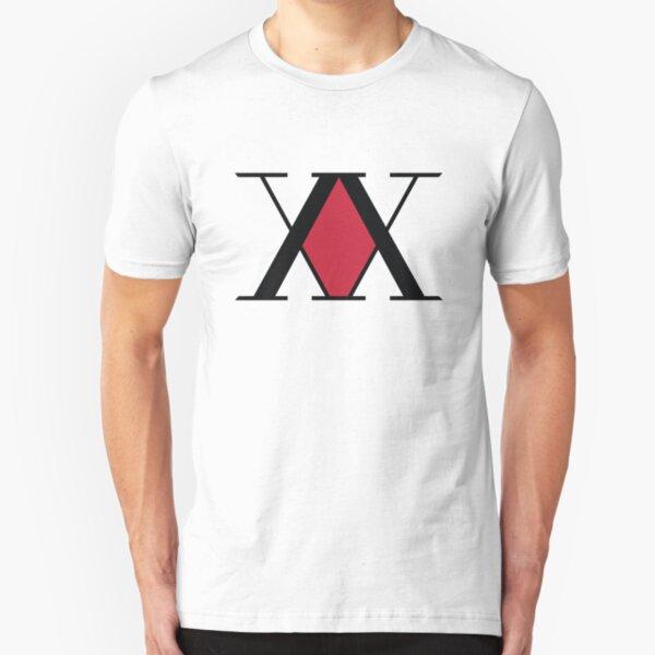 Hunter Association Logo - Hunter X Hunter Slim Fit T-Shirt
