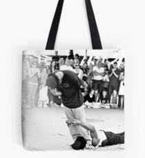 Beat Street greater than 90 degrees Tote Bag