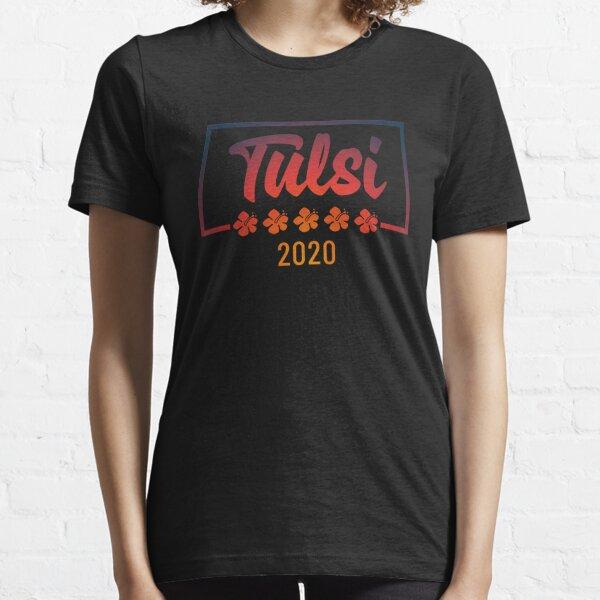 Tulsi 2020 Hawaiian Flowers Essential T-Shirt