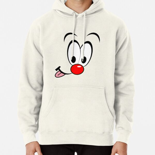Hoodie Reindeer All Day Antlers Red Nose Funny Sleigh