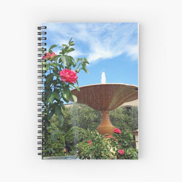 Unity Village Fountain Spiral Notebook