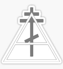 30 Seconds To Mars Cross and Triad Sticker
