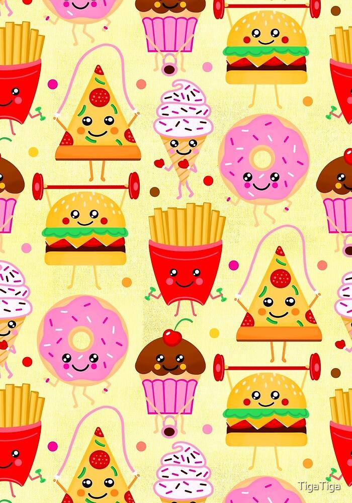 Fit Fast Food by TigaTiga