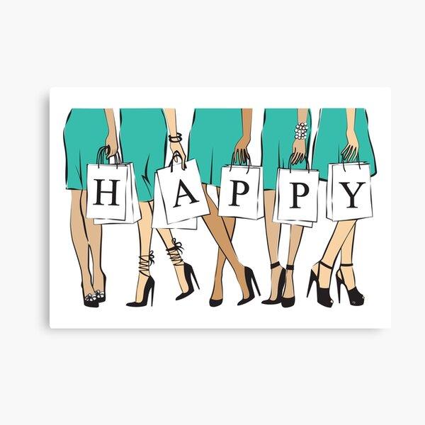 Happy Women Canvas Print