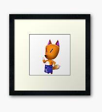 Animal Crossing Character Framed Print