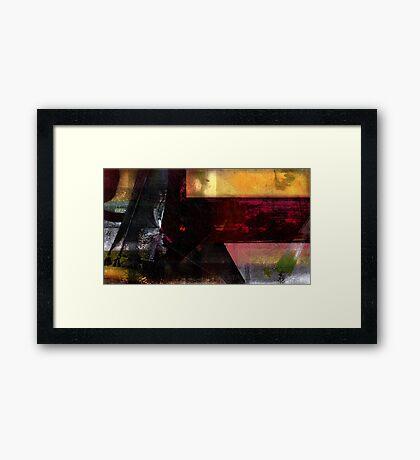 Incremental back up Framed Print