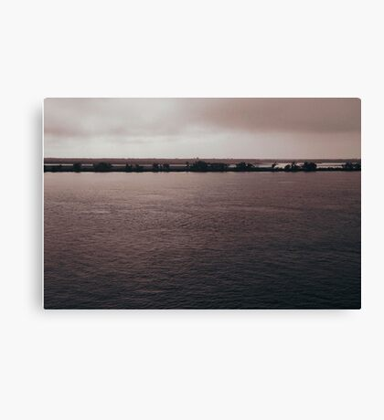 Life by the Parana River... Canvas Print