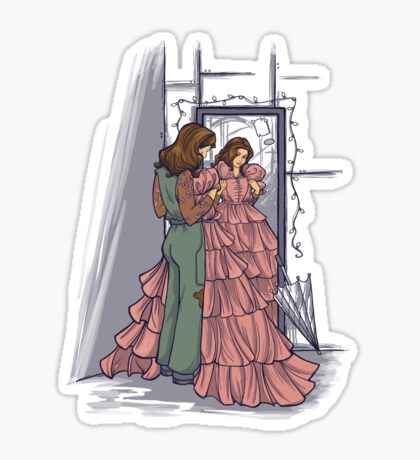 The Shindig Dress Sticker