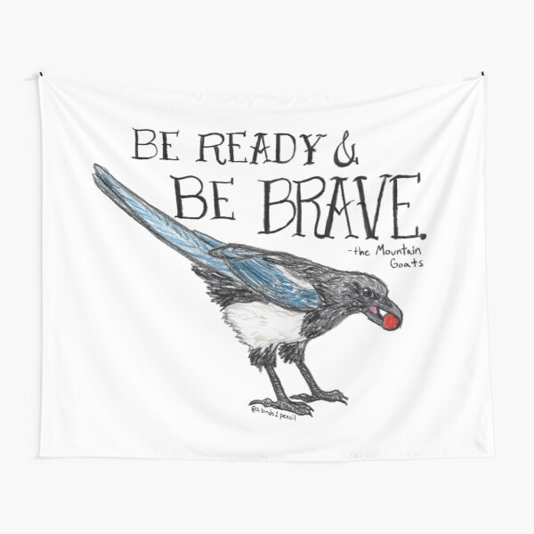 """""""the magpie will have his way"""" Tapestry"""