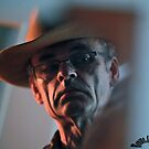 Midnight Cowboy-Everybody is talking at me .  Brown Sugar  -  self portrait . by © Andrzej Goszcz,M.D. Ph.D
