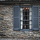 Window of John Hagan's Tavern by Colleen Drew