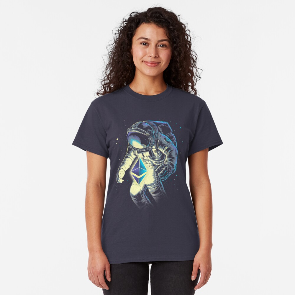 Space Ethereum Classic T-Shirt