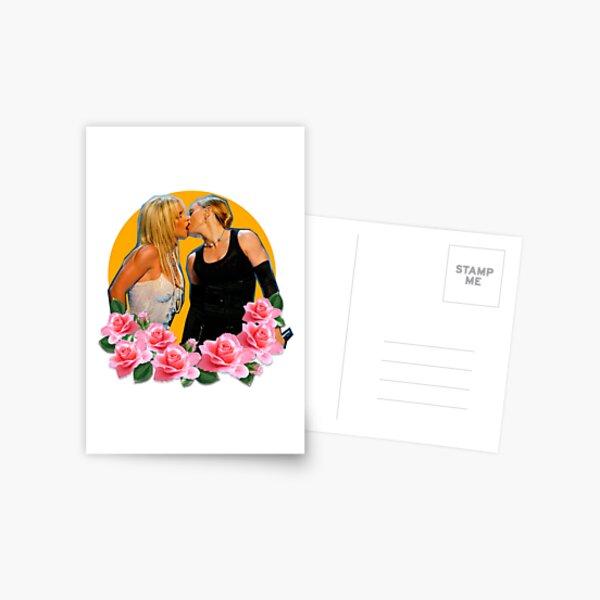 britney madonna Carte postale