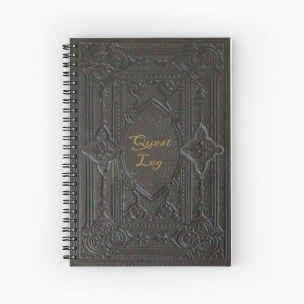 Quest Log Notebook Spiral Notebook