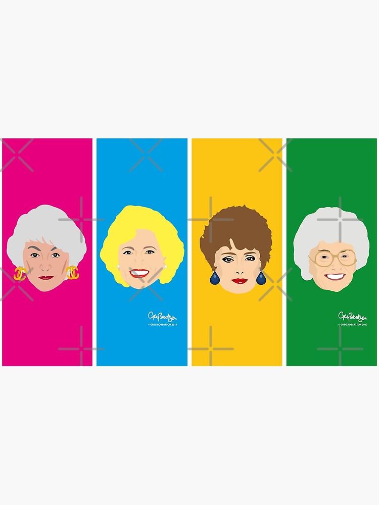 Dorothy, Blanche, Rose and Sophia Mug by gregs-celeb-art