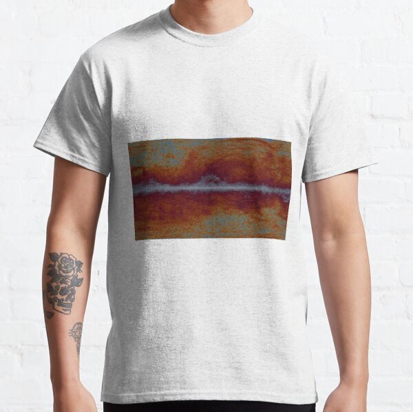 #Abstract, #paper, #canvas, #antique, art, dirty, pattern, old, design, sooty, rough Classic T-Shirt