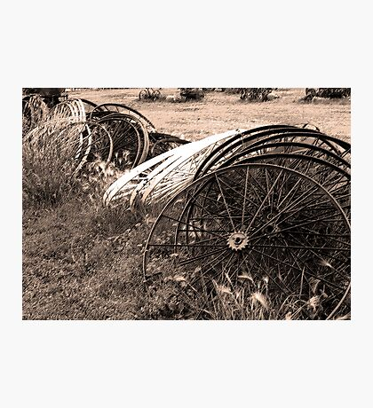 Wheels III Photographic Print