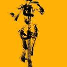 Yellow Character - Flight - Jenny Meehan  by Jenny Meehan