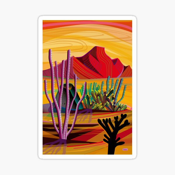 Love Mountain Sticker