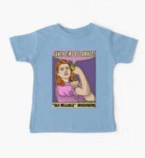 "Old Reliable Willow says ""Eat the banana now!"" Baby Tee"