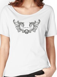 I Open at the Close - Black Version Women's Relaxed Fit T-Shirt