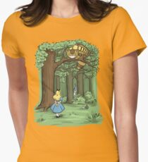 My Neighbor in Wonderland Womens Fitted T-Shirt