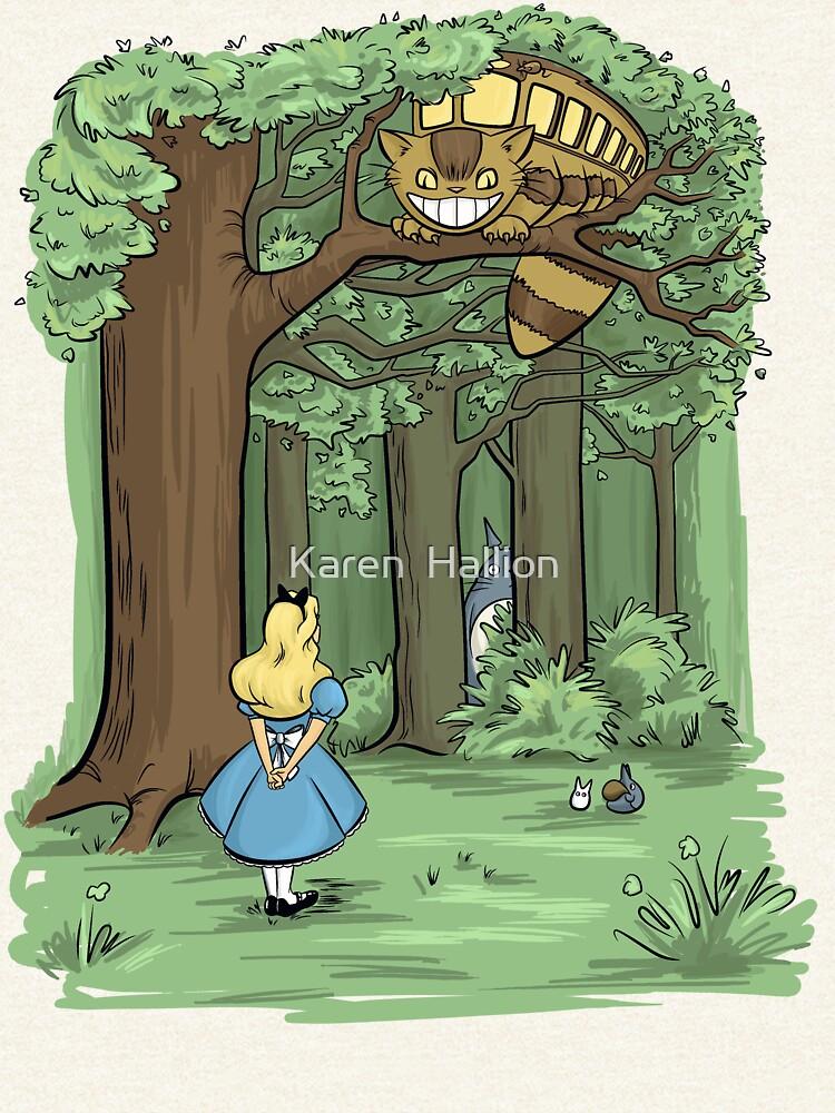 My Neighbor in Wonderland by khallion