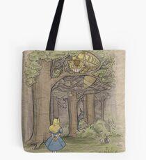 My Neighbor in Wonderland Tote Bag