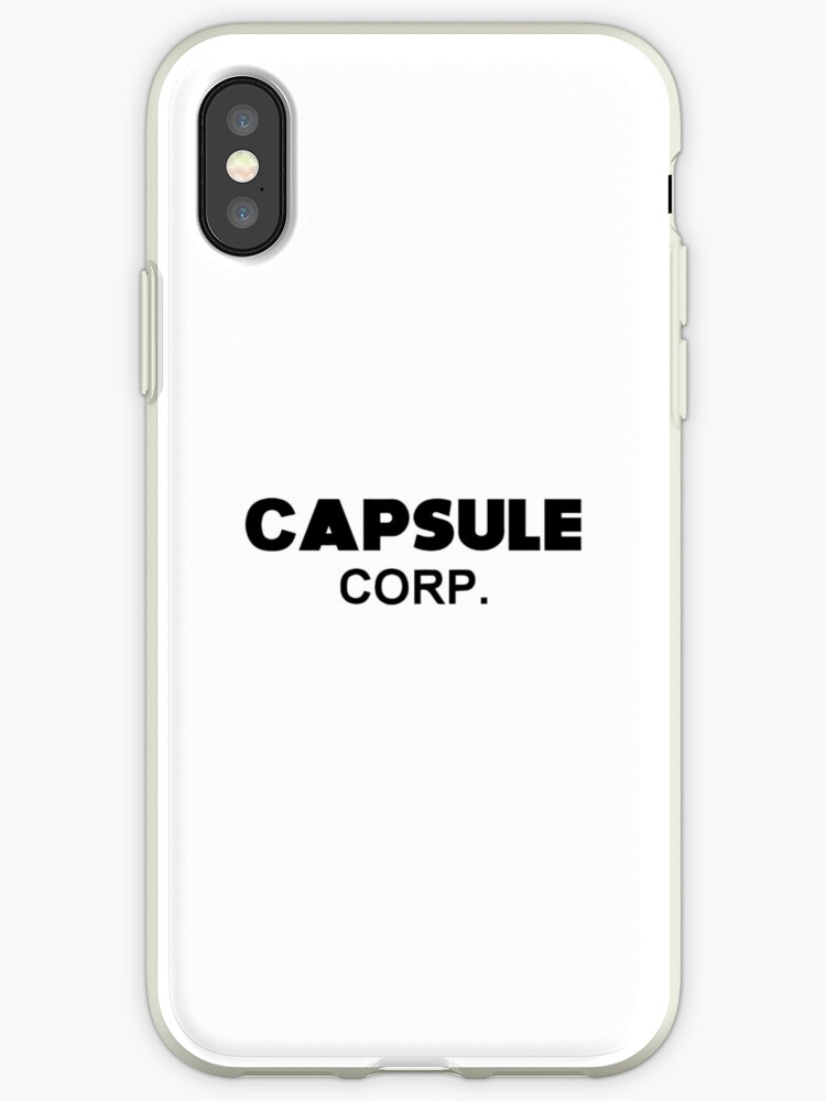 'Capsule Corp  (Trunks)' iPhone Case by SenorFiredude