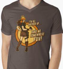 Vera Mens V-Neck T-Shirt