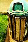 Trashin' the can by Joshua Greiner