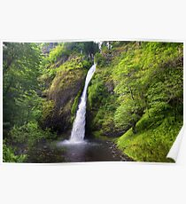 Horsetail falls, Oregon Poster