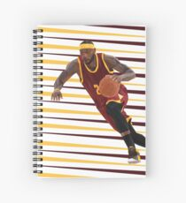 LeBron Spiral Notebook