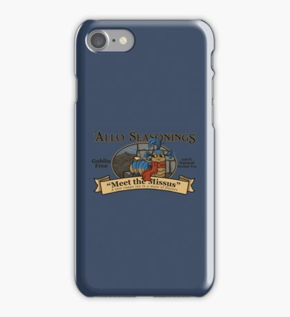 Meet the Missus Tea iPhone Case/Skin