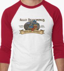 Meet the Missus Tea Men's Baseball ¾ T-Shirt