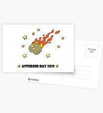 Asteroid Day 2019 - #AsteroidDay Postcards